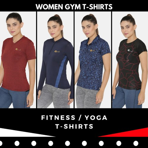 1a4978ffd9d Women Sports & Gym Fitness T Shirts
