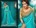 Stylish Party Wear Rangoli Silk Saree