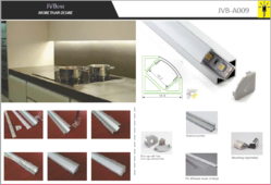 Led Aluminum Profile JVB009 for corner