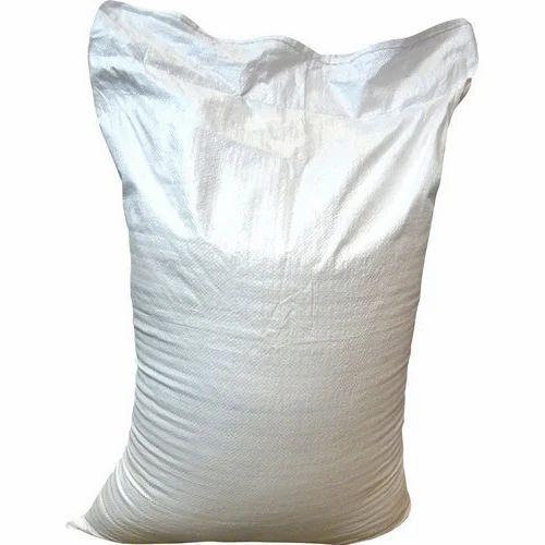 White Pp Sack Bag