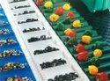 Green PVC Conveyor belt