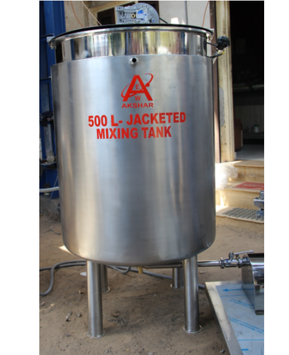 Double Jacketed Pressure Vessels