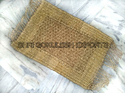 Weaving Seagrass Mats