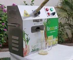 400 Watt Automatic Sugarcane Juice Machine, Capacity: 400 Glass Per Hour