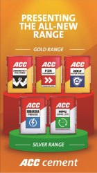 PPC (Pozzolana Portland Cement) Acc Cement, Packaging Type: Paper Sack Bag, Cement Grade: Grade 53