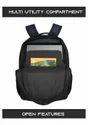 Punk-Blk-Blue Laptop Bag