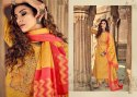 Ibiza Arham Cotton Khadi Silk With Embroidery Work Salwar Suit Catalog Collection