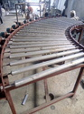 Curved Motorised Roller Conveyor