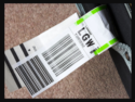 Transport Luggage Labels