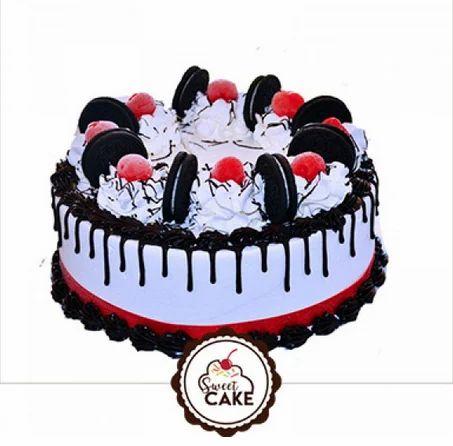 Fantastic Oreo Cookies Cake Birthday Cake In Nayabans Noida Sweet Cake Personalised Birthday Cards Vishlily Jamesorg