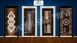 UV Membrane Door Print