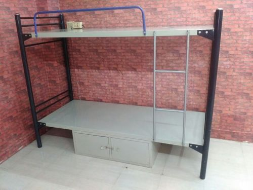 Cherry Wood Double Cot Bed Warranty 1 Year Rs 5300
