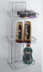 Triple Bathroom Shelf