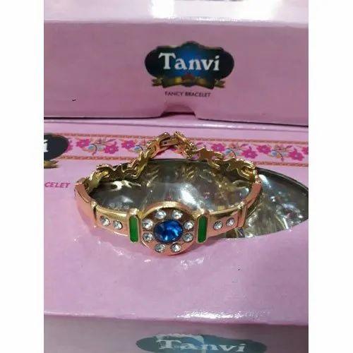 Tanvi White Metal Bengal Bracelet