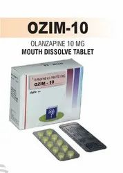 Olanzapine 10 Mg & 15 Mg Mouth Dissolving Tablet
