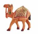 Brown Wooden Camel