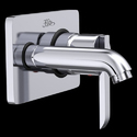 Cerajot Stainless Steel Wall Mounted Single Lever Basin Mixer