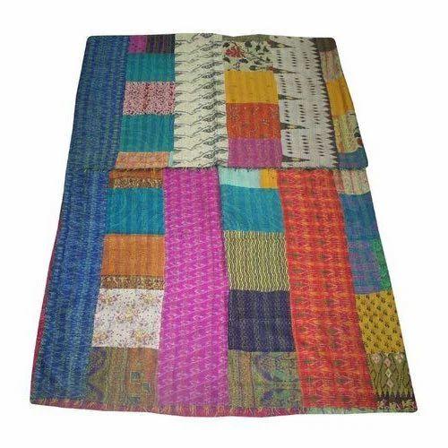 Kantha Quilt Bedspread Bed Cover Bedding Twin Kantha Quilt Kantha Blanket