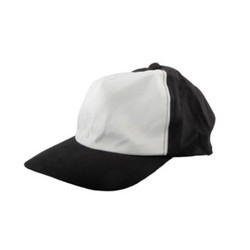 Black Sublimation Printable Polyester Blanks Cap