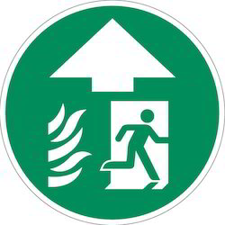 Fire Exit Sign Board