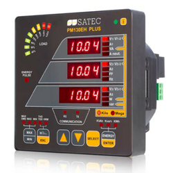 SATEC Three Phase Multi-Parameter Power Meter PM135EM PLUS