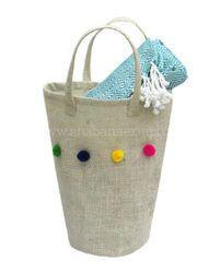 Jute Clothes Baskets