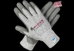 Pu Modulded Heavy Duty Cut Resistant Sleeves