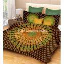 Designer Mandala Tapestry Bedsheet