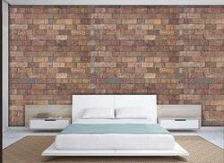 Cork Wall Covering Brick Mosaic