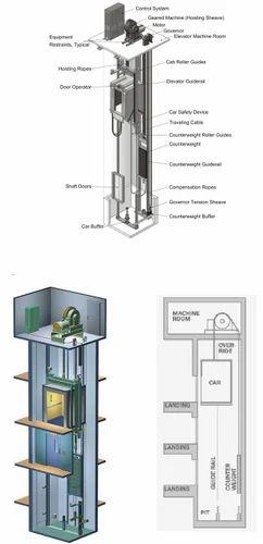 Elevator Lift Installation And Service Available In Keshar Vihar
