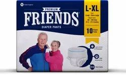 Adults Pant Type Friends Pull Ups Pantsl-Xl, Packaging Size: 10's Pack