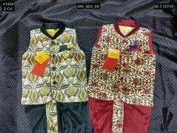 Occasion Wear Boys Digital Print Dhoti Kurta Set, Size: XS-5, Age: 0-5
