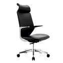 Simple Black Executive Chair
