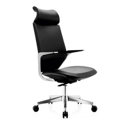 Simple Black Executive Chair