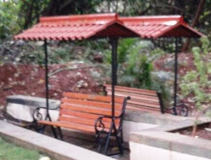 Heavy Duty Counter Stools, Garden Bench With Roof Size Feet L 5 Ft X W 2 Ft Rs 1 Onwards Arpan Associates Id 19500996448