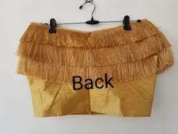 Ladies Party Wear Designer Silk Blouse