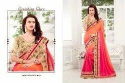 Priyanka Burffy Pading Silk Saree