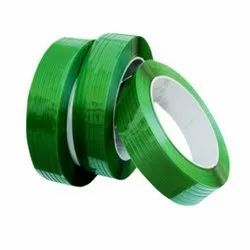 Zeal Polymers Dark Green Plain PET Box Strapping, Packaging Type: Roll, for Box Packaging
