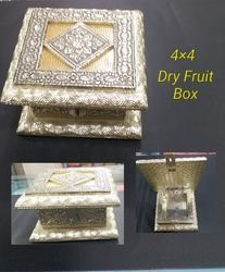 4x4 inch Wooden Dry Fruit Box