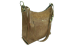 Crunch Leather Ladies Hobo Bag
