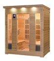 Infrared Sauna Bath 4 Person Model Si-prolm 400k2