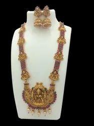 Karishma Kreations Matte Finish Long Jewellery Set 5001