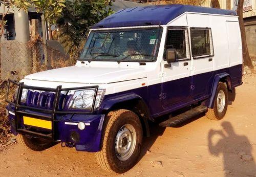 Mild Steel Cash Van Model Mahindra Bolero Camper Rs 775000 Unit