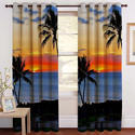 Digital Nature Print Curtain