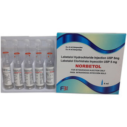Labetalol Hydrochloride Injection USP 5 mg