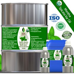 Organic Mentha Spicata Var Oil