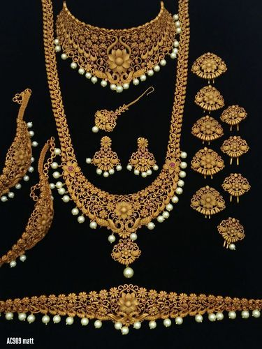 79768e8b12 Brass, Copper Wedding Bridal Set, Rs 4200 /piece, JJ Universal   ID ...