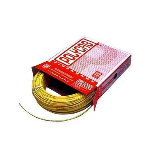 Yellow Polycab Wires