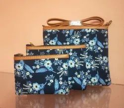 Ladies Shoulder Bag Set