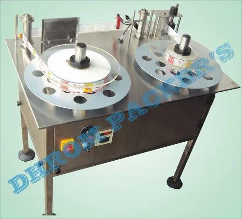 Label Rewinder Machine, Voltage: 230 VOLT AC